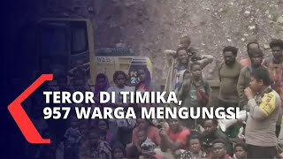Teror Kelompok Kriminal Bersenjata Di Pegunungan Timika, 957 Warga Mengungsi