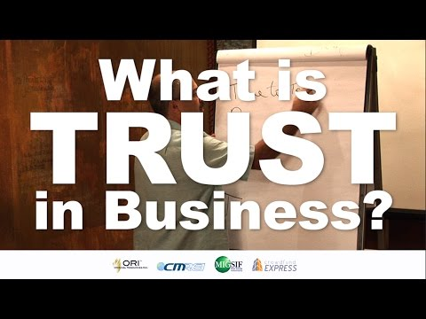 What is TRUST in Business?