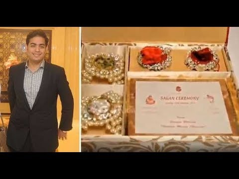Mukesh Ambani Son S Rs 1 5 Lakh Wedding Card Goes Viral Check