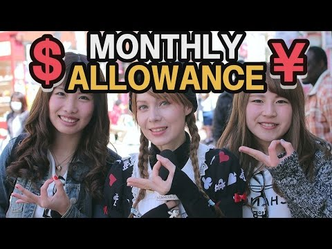 How much do Japanese people earn/spend every month?