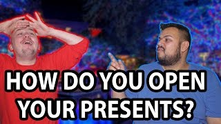 How Should You Open Christmas Presents? Dan & Jase Debate