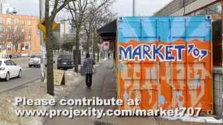 Transforming the landscape of not just Dundas Street West, but also the opportunity landscape for micro-enterprise, help use make Market 707 into the Toronto destination it deserves to be! Support our project at www.projexity.com/market707 today!