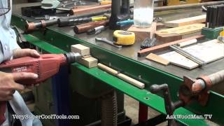 783. Attaching Guide Rail • Table Saw Work Station Series