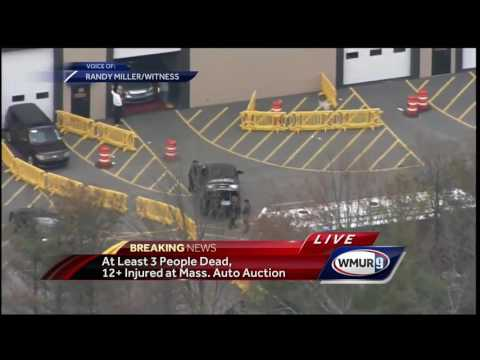 NH man witnessed auto auction crash: 'The most horrific thing I have ever seen'