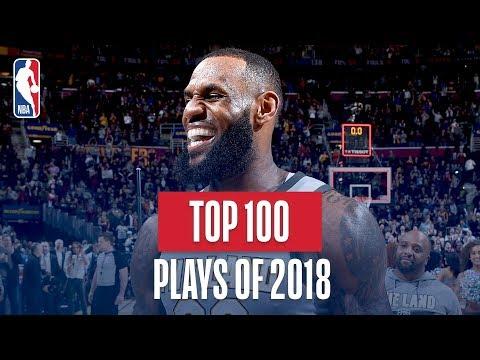 NBA\'s Top 100 Plays of 2018
