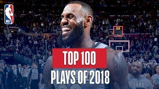 Download NBA's Top 100 Plays of 2018 Mp3 and Videos