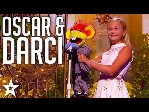 Oscar Dedicates Song to Mel B | Darci Lynne | America's Got Talent 2017