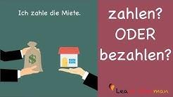 Learn German | Common Mistakes in German | zahlen oder bezahlen? | A1 | A2