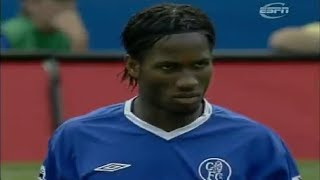 Download Video Didier Drogba vs Manchester United ► Chelsea Debut ► 15/08/2004 (Highlights) MP3 3GP MP4