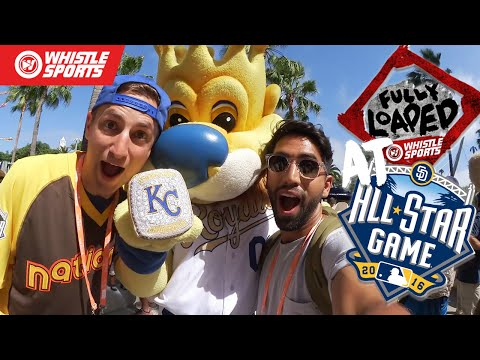 HIGHLIGHTS FROM MLB ALL-STAR GAME ALL-ACCESS VLOG | #FullyLoaded