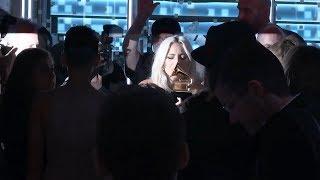 Lady Gaga Backstage Kissing Her GRAMMY | 2019 GRAMMYs