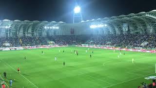 Tribünde İzmir Marşı | Akhisarspor Beşiktaş Karşılıklı İzmir Marşı