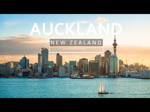 Auckland City - New Zealand's Largest City [Aerial Drone]