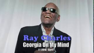Ray Charles - Georgia On My Mind (Karaoke)