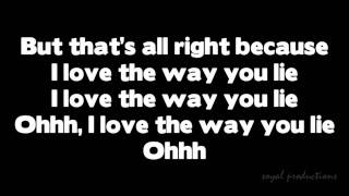 Skylar Grey - Love the way you lie HD with Lyrics