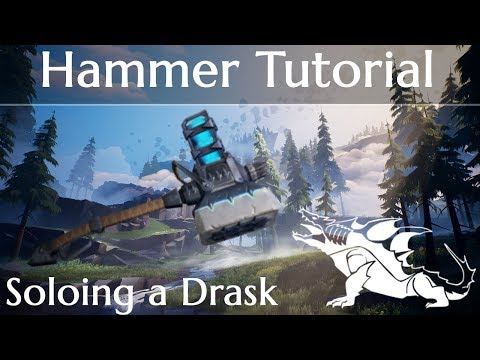 Dauntless Hammer Tutorial and Tips - Soloing a Drask