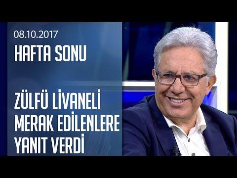 Zülfü Livaneli merak edilenlere yanıt verdi  Hafta Sonu 08102017 Pazar