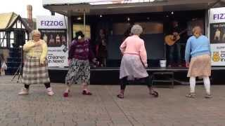 """The Dancing Grannies"" Dance for Children in Need"