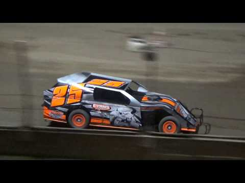 I.M.C.A. Heat Race #1 at Crystal Motor Speedway, Michigan on 09-15-2018!