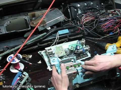 87 Chrysler Lebaron Wiring Diagram Chevy S10 Cable To Electric Cluster Tutorial Youtube