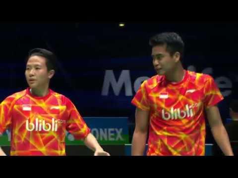 Yonex All England Open 2017 | Badminton QF M3-XD | Adc/Adc vs Ahm/Nat