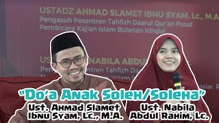Video CATAT!! Ustadzah Nabila Membagikan Do'a Mustajab Untuk Anak Soleh Soleha download MP3, 3GP, MP4, WEBM, AVI, FLV April 2018