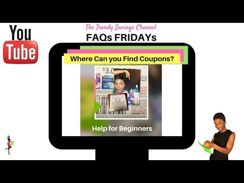 Where Can I  Find Coupons and inserts (FAQs FRIDAYs-1)-Couponing Tips for Beginners