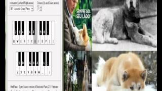 Piano Eletronico - Kaczmarek - Goodbye Música do filme Sempre ao seu Lado/Hachiko