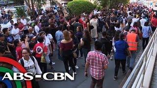 Quake forces evacuation of 'Sino Ang May Sala' stars   TV Patrol