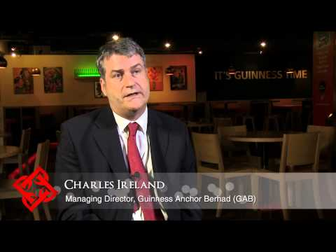 Executive Focus: Charles Ireland, Managing Director, Guinnes