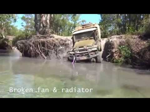 Flat Tow River Crossing Cape York