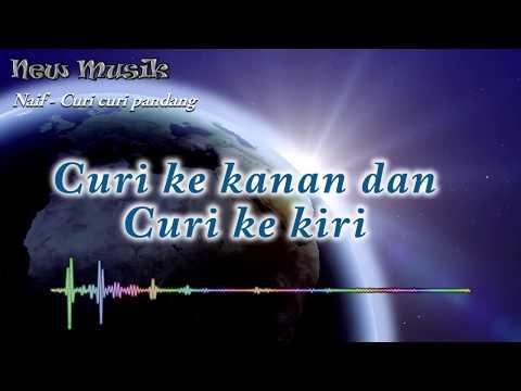 Naif - Curi curi pandang Lirik