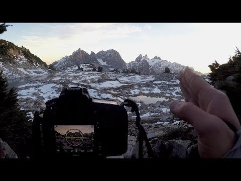 Photography in the Mountains - Escaping a Snow Storm || The Landscape Photography Journals E1
