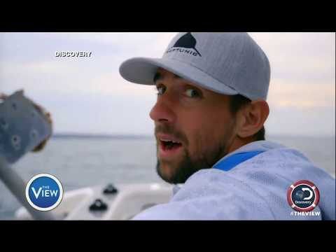 Michael Phelps 'Races Shark' | The View