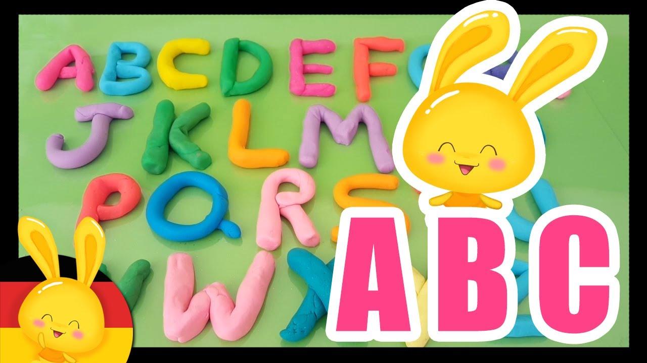 Das deutsche Alphabet auf kindgerechte Weise lernen - Titounis - Learn alphabet in german -