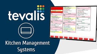 Tevalis technology ecosystem - on premise layer our kitchen management solution is one of the most advanced market, operating seamlessly with te...