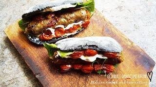 WORLDS BEST VEGAN GOURMET SUMMER BBQ  - EGGPLANT PESTO SAUSAGE   | Connie's RAWsome kitchen