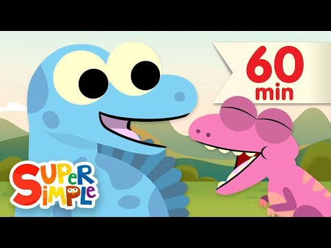 10 Little Dinosaurs  (Part 2) | + More  Kids Songs | Super Simple Songs