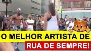 Um Artista de rua que envergonha qualquer profissional!