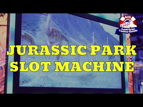 """Jurassic Park"" Slot Machine From IGT"