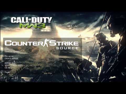 Counter Strike Source MW3 | Model Gun | Sound | Animation !!!