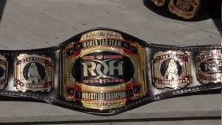 NEW ROH WORLD TAG TEAM TITLE BELTS