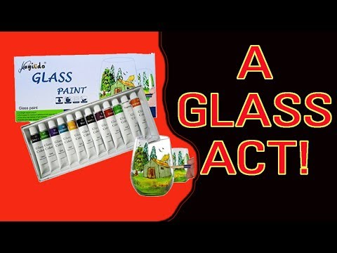 DIY Glass Painting with Magicdo Glass Paints