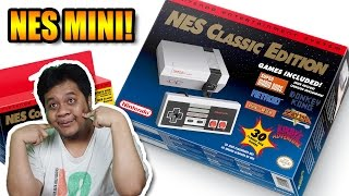 Unboxing & Main Nintendo NES Mini !! :D (Langsung Ngerasa Tua) - TAG BLAST