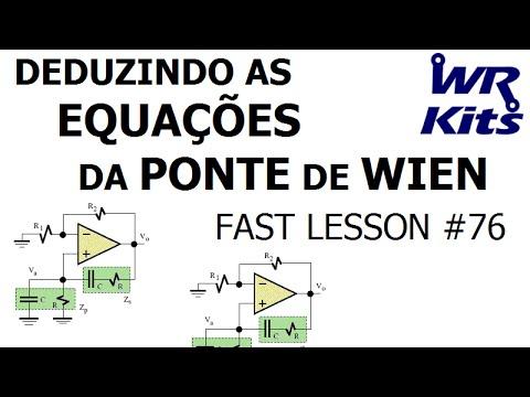 PONTE DE WIEN EQUAÇÕES | Fast Lesson #76