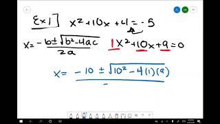 How to Use and Apply the Quadratic Formula