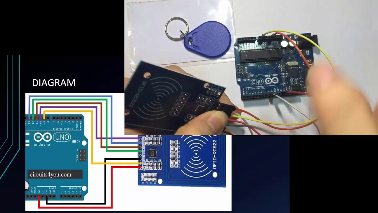 Arduino Tutorial for Beginners 16 - RFID Tutorial RC522 with