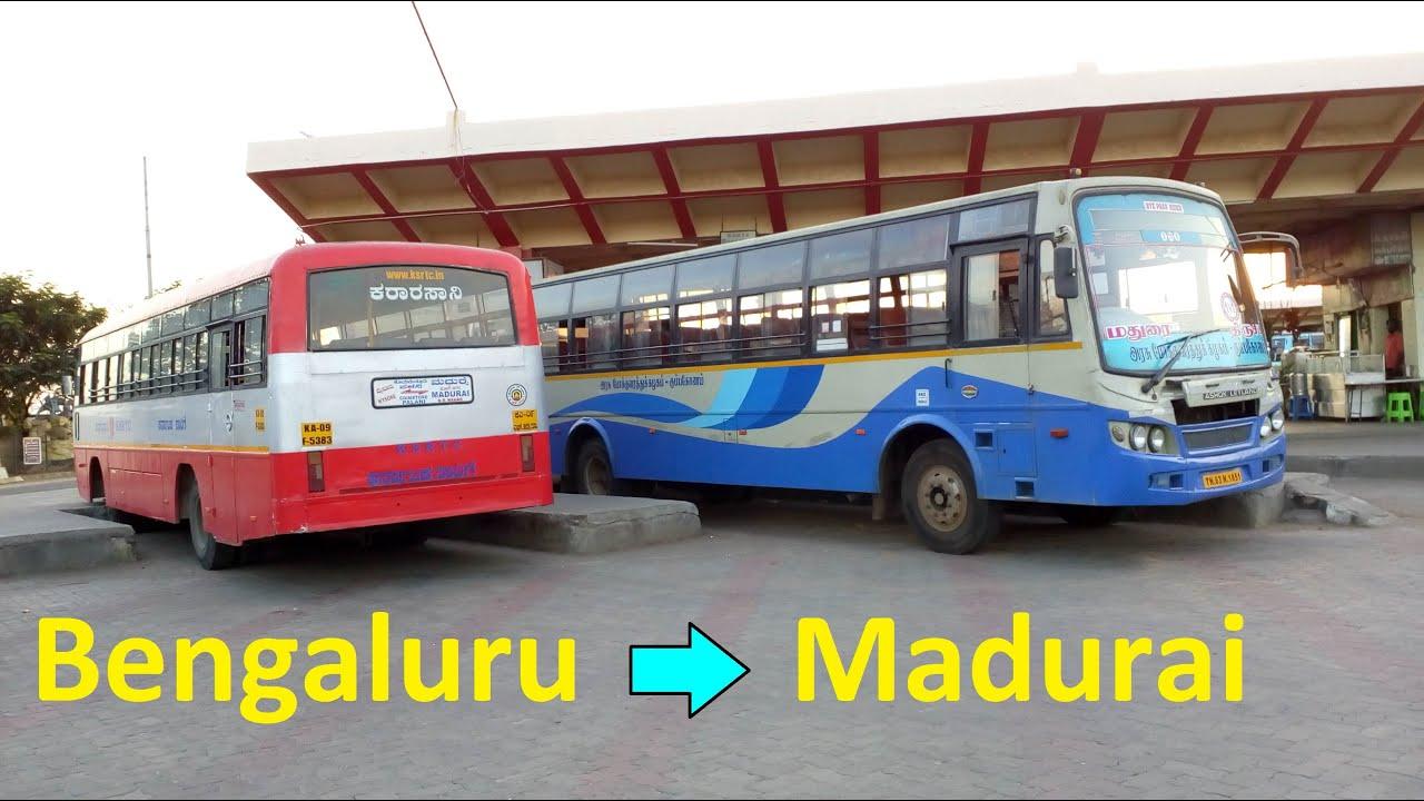 Bengaluru to Madurai