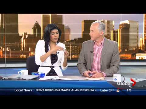 How to eat an Oreo cookie shown by the morning news.