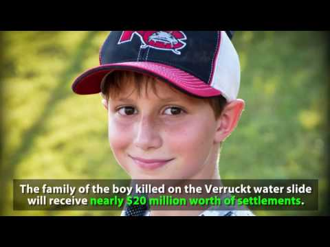 Family Receives  $20 Million Settlement In Water Park Death